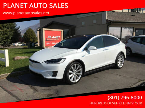 2016 Tesla Model X for sale at PLANET AUTO SALES in Lindon UT