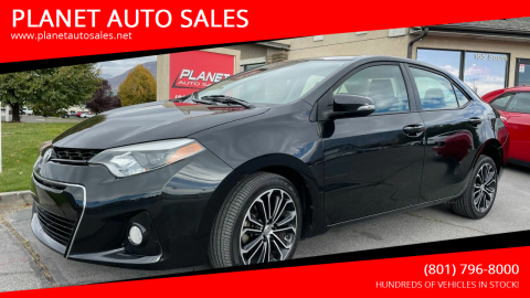 2014 Toyota Corolla for sale at PLANET AUTO SALES in Lindon UT