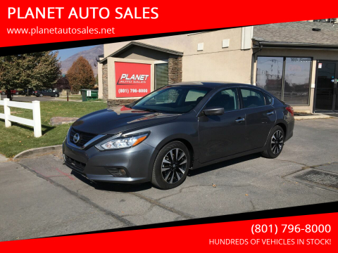 2018 Nissan Altima for sale at PLANET AUTO SALES in Lindon UT