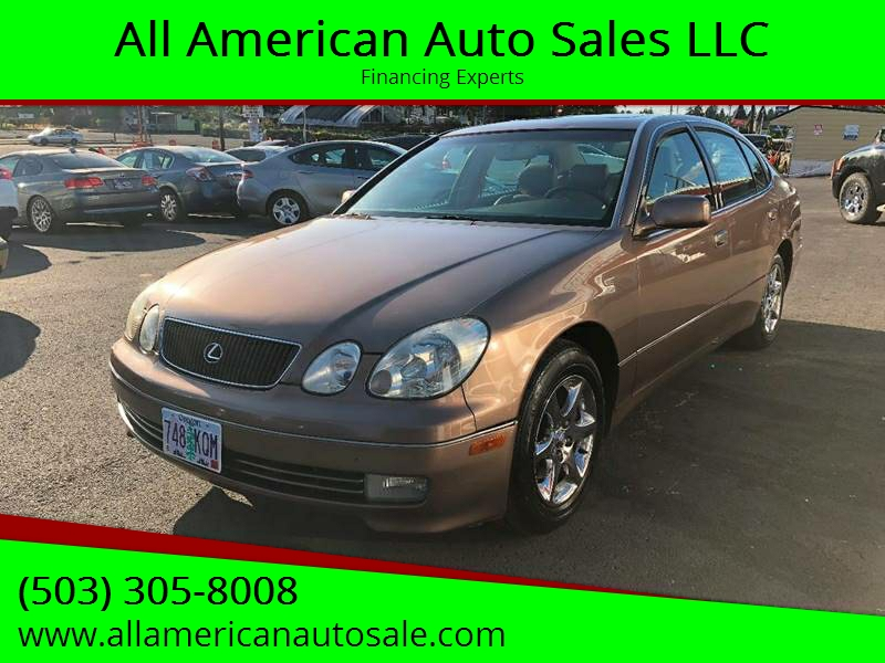 1999 Lexus GS 300 For Sale At All American Auto Sales LLC In Milwaukie OR