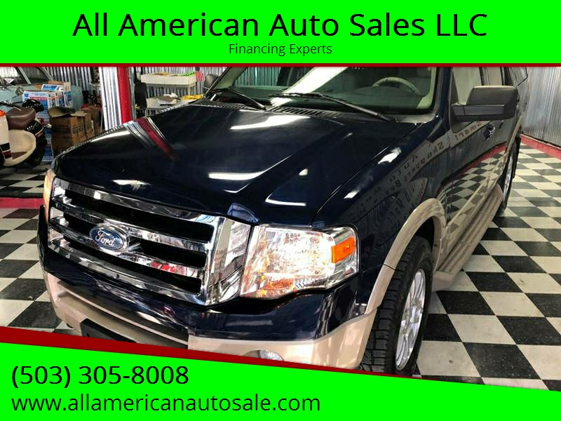 2009 Ford Expedition For Sale At All American Auto Sales LLC In Milwaukie OR