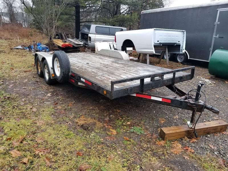 2010 PJ PJ7 00 lb Car Trailer In Homer NY - Dann Brothers LLC