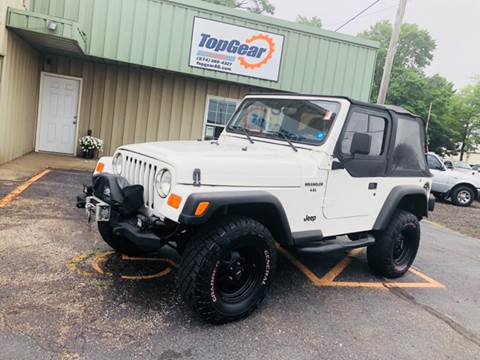 1997 Jeep Wrangler For Sale At Top Gear Auto Group In Elkhart IN