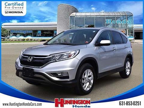2015 Honda CR-V for sale in Huntington, NY