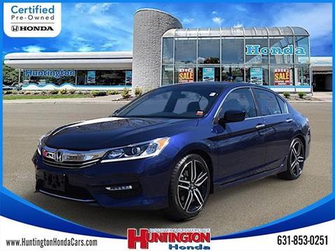 2017 Honda Accord for sale in Huntington, NY