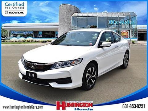 2016 Honda Accord for sale in Huntington, NY