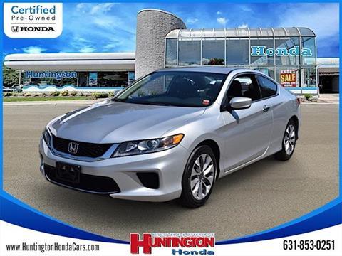 2015 Honda Accord for sale in Huntington, NY