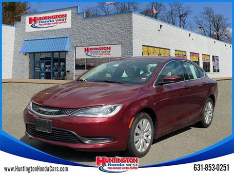 2016 Chrysler 200 for sale in Huntington, NY