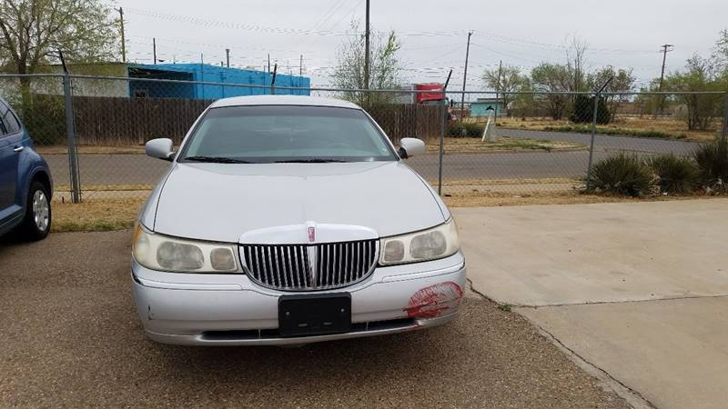 1998 Lincoln Town Car Signature In Lubbock Tx Carabajal Motor Co