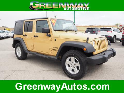 2014 Jeep Wrangler Unlimited for sale in Morris, IL