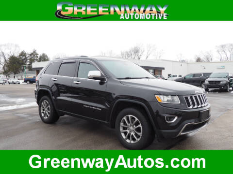 2015 Jeep Grand Cherokee Limited for sale at Greenway Automotive GMC in Morris IL