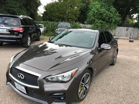 2014 Infiniti Q50 for sale at Texas Luxury Auto in Houston TX