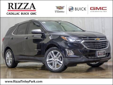 2018 Chevrolet Equinox Premier for sale at Rizza Buick GMC Cadillac in Tinley Park IL