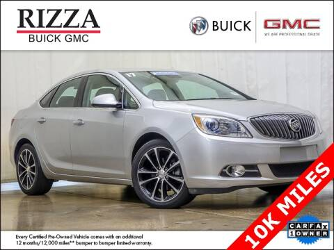2017 Buick Verano for sale at Rizza Buick GMC Cadillac in Tinley Park IL