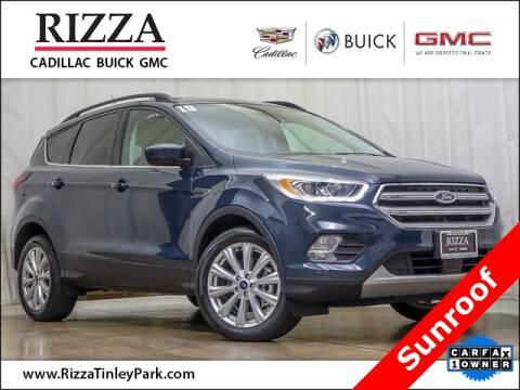 2019 Ford Escape for sale at Rizza Buick GMC Cadillac in Tinley Park IL
