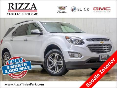 2017 Chevrolet Equinox for sale at Rizza Buick GMC Cadillac in Tinley Park IL