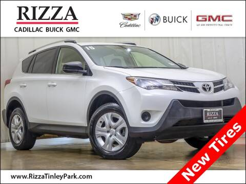 2015 Toyota RAV4 for sale at Rizza Buick GMC Cadillac in Tinley Park IL