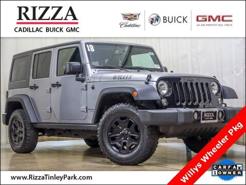 2018 Jeep Wrangler JK Unlimited for sale at Rizza Buick GMC Cadillac in Tinley Park IL