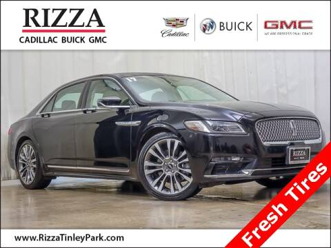 2017 Lincoln Continental for sale at Rizza Buick GMC Cadillac in Tinley Park IL
