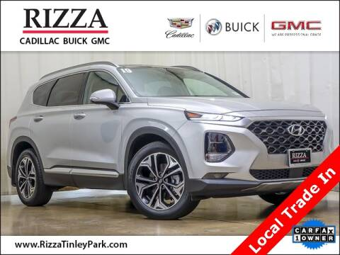 2019 Hyundai Santa Fe for sale at Rizza Buick GMC Cadillac in Tinley Park IL
