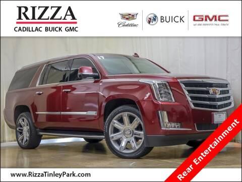 2017 Cadillac Escalade ESV for sale at Rizza Buick GMC Cadillac in Tinley Park IL