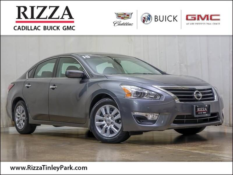 2015 Nissan Altima for sale at Rizza Buick GMC Cadillac in Tinley Park IL