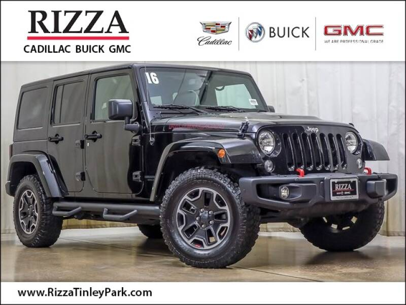 2016 Jeep Wrangler Unlimited for sale at Rizza Buick GMC Cadillac in Tinley Park IL