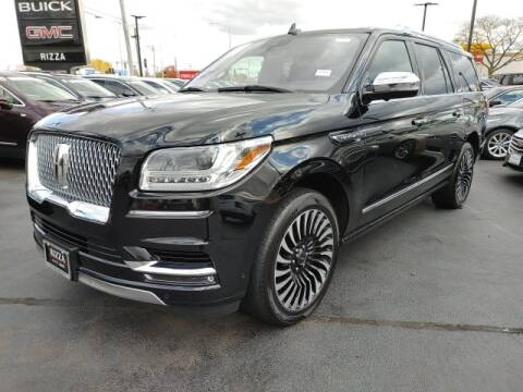 2018 Lincoln Navigator L for sale at Rizza Buick GMC Cadillac in Tinley Park IL