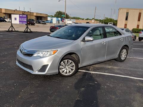 2012 Toyota Camry for sale at Automotive Brokers Group in Dallas TX