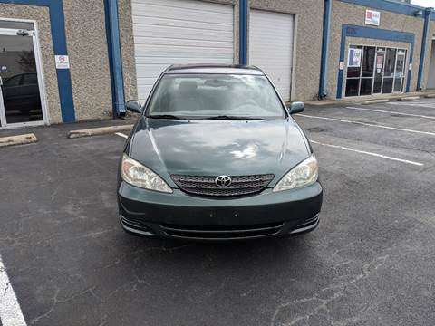 2002 Toyota Camry for sale at Automotive Brokers Group in Dallas TX