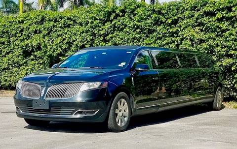 2014 Lincoln MKT Town Car for sale at Limo World Inc. in Seminole FL