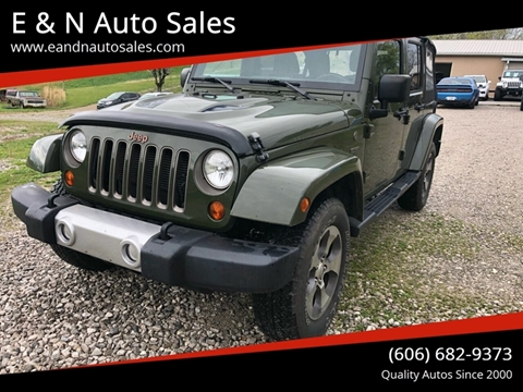 2016 Jeep Wrangler Unlimited for sale in London, KY