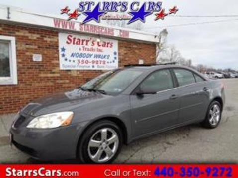2008 Pontiac G6 for sale in Painesville, OH