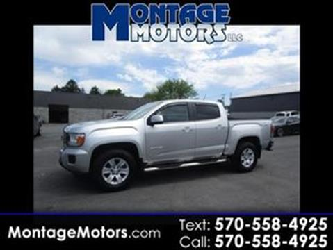 2015 GMC Canyon for sale in Scranton, PA