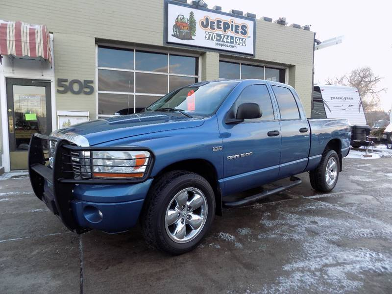 Exceptional 2006 Dodge Ram Pickup 1500 For Sale At Jeepieu0027s LLC In Fort Collins CO