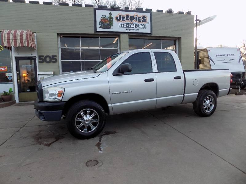2007 Dodge Ram Pickup 1500 For Sale At Jeepieu0027s LLC In Fort Collins CO
