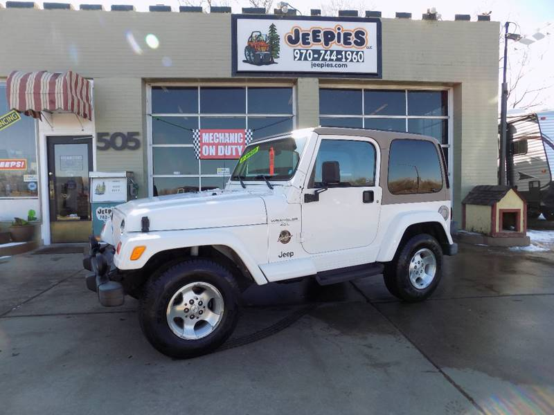 2000 Jeep Wrangler For Sale At Jeepieu0027s LLC In Fort Collins CO