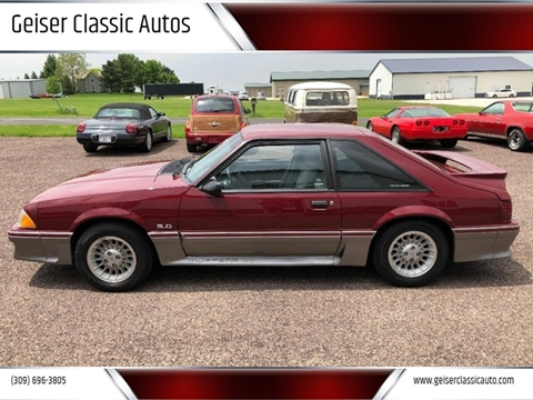 1989 Ford Mustang for sale in Roanoke, IL