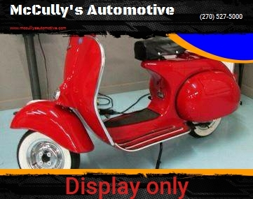 Vespa For Sale in Benton, KY - McCully's Automotive