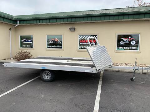 2017 Targhee 2 Place Aluminum/ Ride On/off  for sale in Post Falls, ID