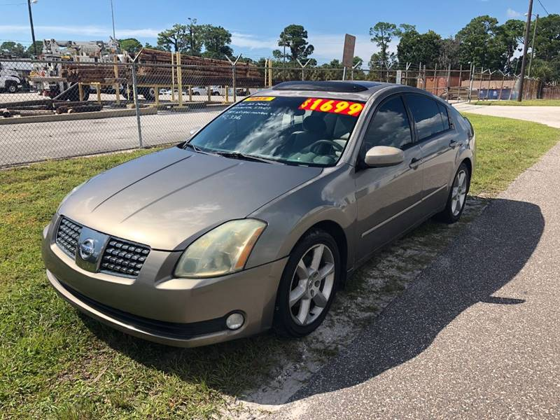 2004 Nissan Maxima For Sale At Finest Auto Sales In Port Richey FL
