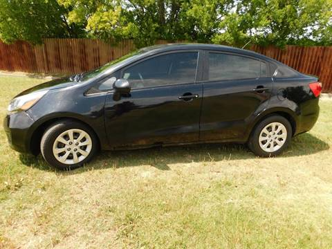 2013 Kia Rio for sale at El Jasho Motors in Grand Prairie TX