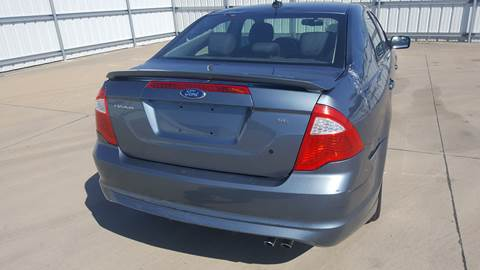 2011 Ford Fusion for sale at El Jasho Motors in Grand Prairie TX
