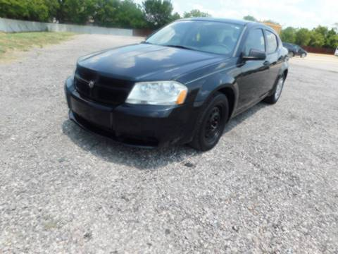 2008 Dodge Avenger for sale at El Jasho Motors in Grand Prairie TX