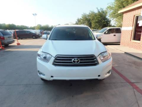 2010 Toyota Highlander for sale at El Jasho Motors in Grand Prairie TX