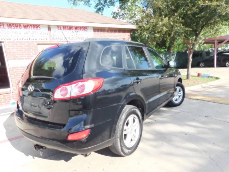 2011 Hyundai Santa Fe for sale at El Jasho Motors in Grand Prairie TX