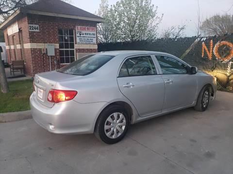 2009 Toyota Corolla For Sale >> Toyota For Sale In Grand Prairie Tx El Jasho Motors