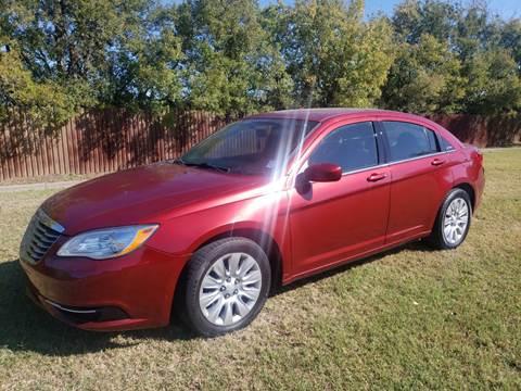 2012 Chrysler 200 for sale in Grand Prairie, TX
