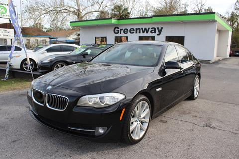 2012 BMW 5 Series For Sale In Jacksonville FL