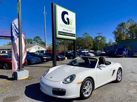 2008 Porsche Boxster for sale in Jacksonville, FL